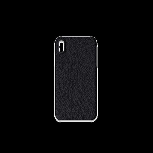 iPhone XS Max Case<br>German Shrunken Calf<br>Black