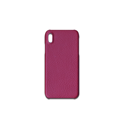 iPhone XS Max Case<br>French Crisp Calf<br>Indian Pink