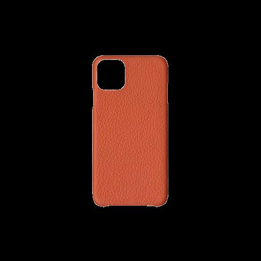 iPhone 11 Pro Max Case<br>French Crisp Calf<br>Orange