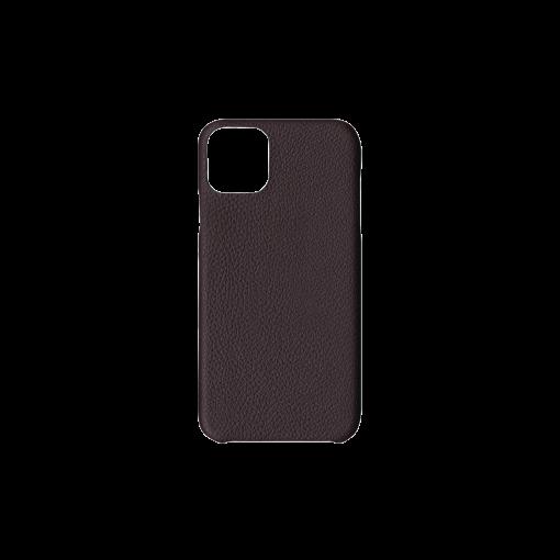 iPhone 11 Pro Max Carbon Case<br>German Shrunken Calf<br>Chocolate