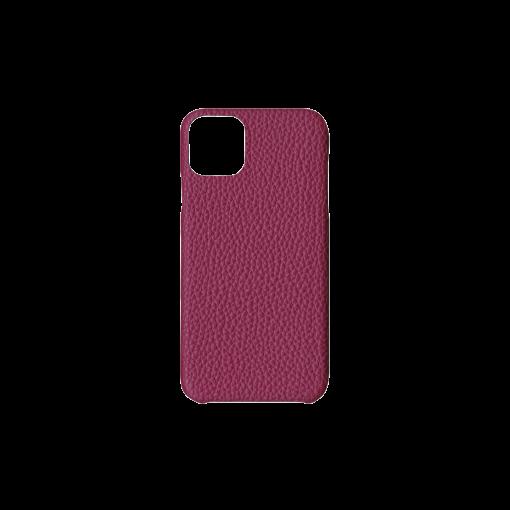 iPhone 11 Pro Max Carbon Case<br>German Shrunken Calf<br>Indian Pink