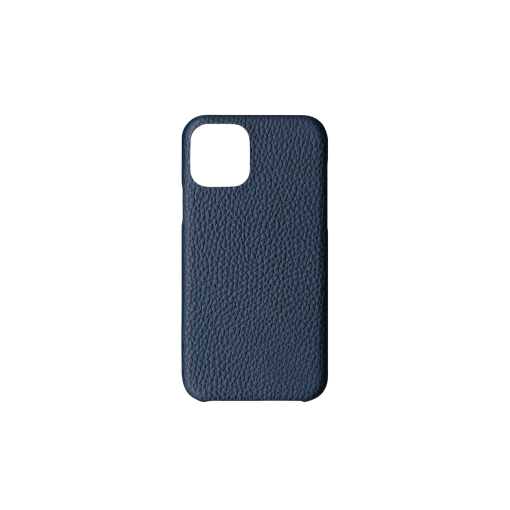 iPhone 11 Pro Carbon Case<br>German Shrunken Calf<br>Imperial Blue