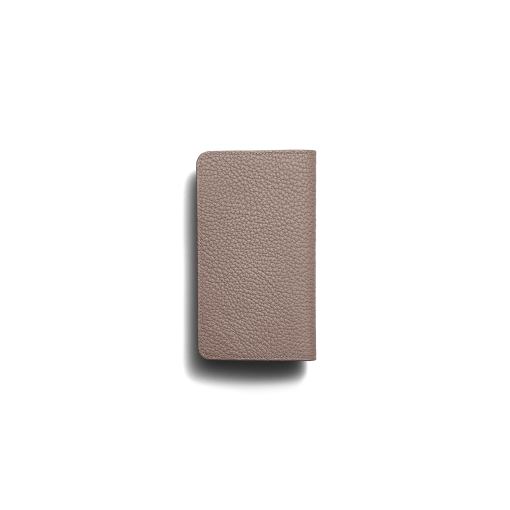 iPhone 11 Pro Max Combo Case<br>German Shrunken Calf×Lamb<br>Tortora×Turquoise