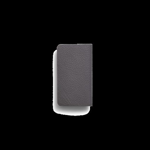iPhone 11 Pro Max Combo Case<br>German Shrunken Calf×Lamb<br>Titanium×Orange