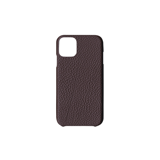 iPhone 11 Case<br>German Shrunken Calf<br>Chocolate