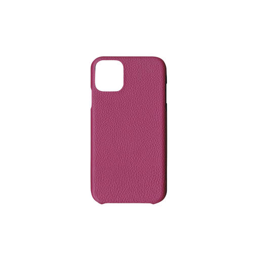 iPhone 11 Case<br>German Shrunken Calf<br>Indian Pink