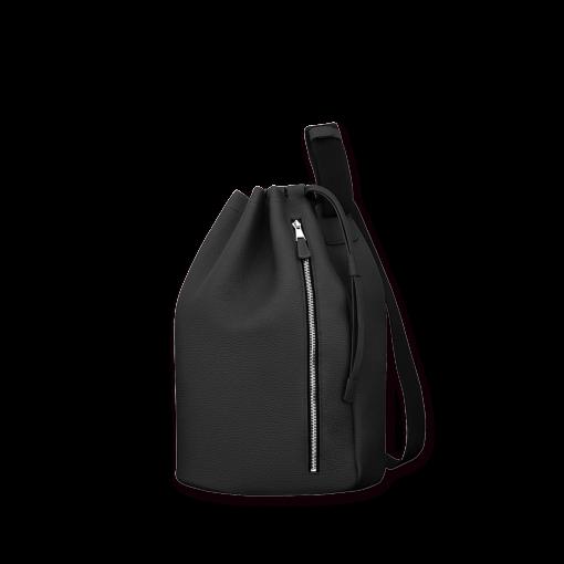 Samurai Shoulder (L)<br>French Crisp Calf<br>Black×Black