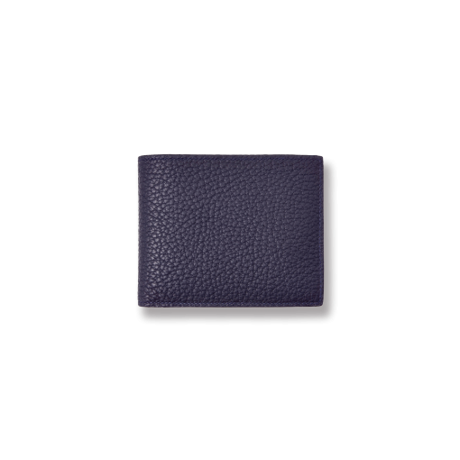 T6 Wallet<br>German Shrunken Calf×Lamb<br>Midnight Blue×Midnight Blue