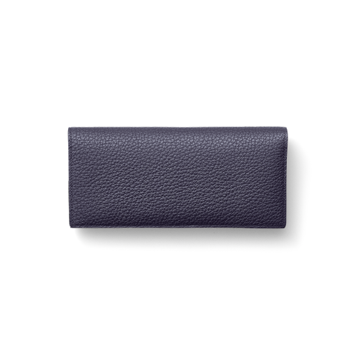 TT2 Wallet<br>German Shrunken Calf×Lamb<br>Midnight Blue×Midnight Blue