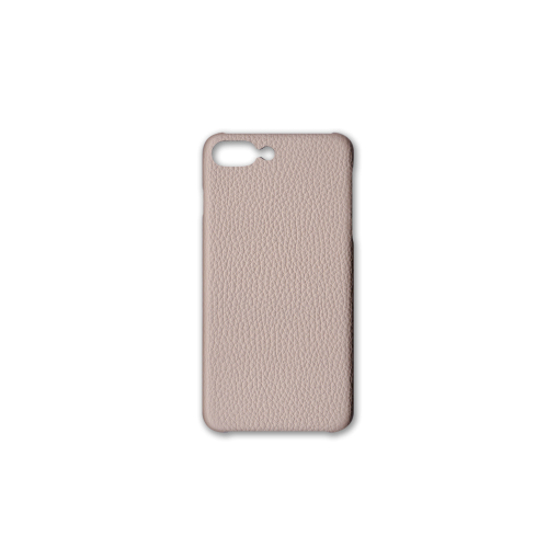 iPhone 7Plus&8Plus Case<br>German Shrunken Calf<br>Platinum