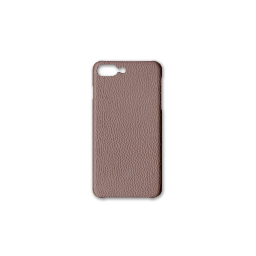 iPhone 7Plus&8Plus Case<br>German Shrunken Calf<br>Tortora