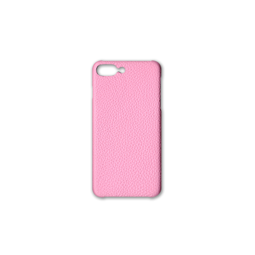 iPhone 7Plus&8Plus Case<br>German Shrunken Calf<br>Pink