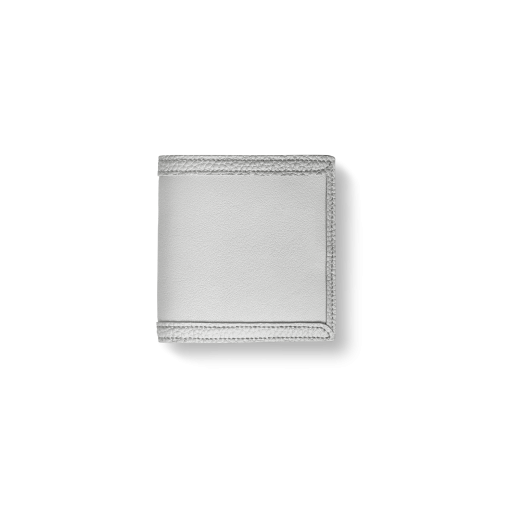 Compact Wallet with Coin Case2/CFR<br>Soft Calf (×Shrink Calf Frame)<br>White