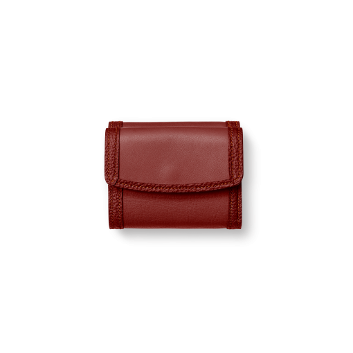 WX Wallet 2/CFR<br>Soft Calf (×Shrink Calf Frame)<br>Red