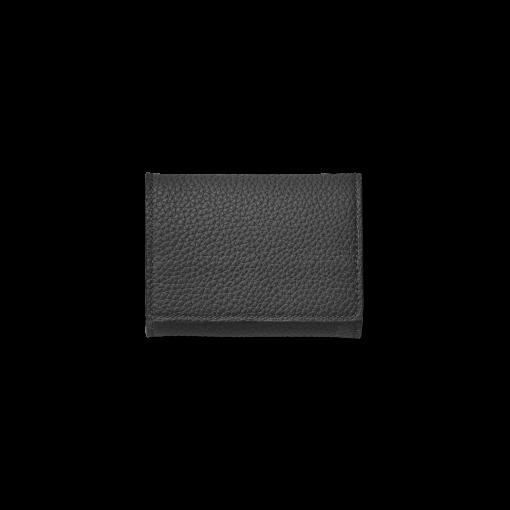 Box Coin Case<br>German Shrunken Calf×Lamb<br>Black×Azure