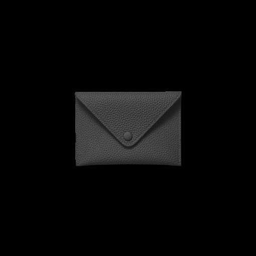 Smart Envelope(S)<br>German Shrunken Calf×Lamb<br>Black×Azure