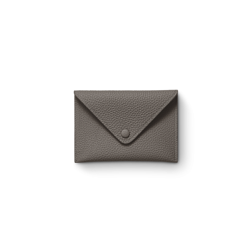 Smart Envelope(S)<br>German Shrunken Calf×Lamb<br>Titanium×Orange