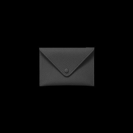 Smart Envelope(S)<br>German Shrunken Calf×Lamb<br>Black×New Grey