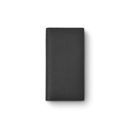 Multi CC Wallet 2<br>German Shrunken Calf×Lamb<br>Black×Azure