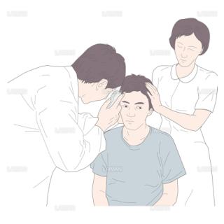 直像鏡検査(仰臥位) (Sサイズ)