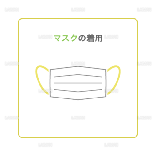 【新しい生活様式】マスクの着用(タイプ2・Mサイズ)