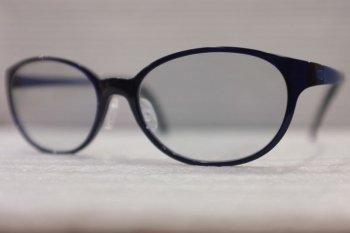 TALEX モアイグレー BP3136-black 見やすい夜間運転用眼鏡(女性か小顔の方へ)
