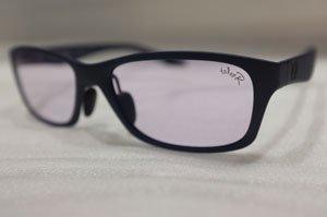 TALEX モアイグレー Flat13-MatNavy 見やすい夜間運転用眼鏡(店頭でご確認ください)