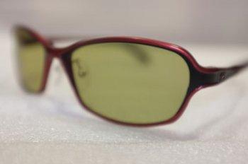 EG-ZEAL Dorio(ドリオ) Red/Black 見やすいガラスレンズ