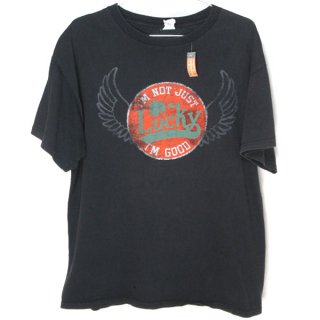 USA仕入れ DELTA Pro weight Lucky プリント Tシャツ 黒 L - 101015