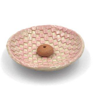 市松丸香立 ピンク