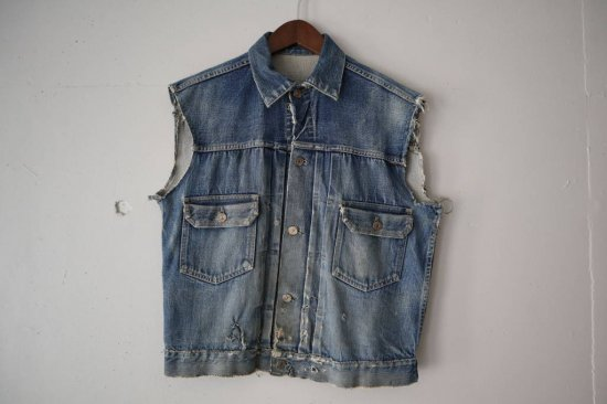"50's~ LEVI'S ""507XX"" Cut Off"