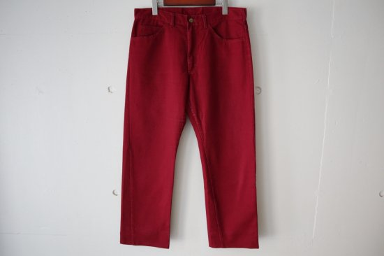 70s~ Lee 200-1861 Twill Pants Size:34×28