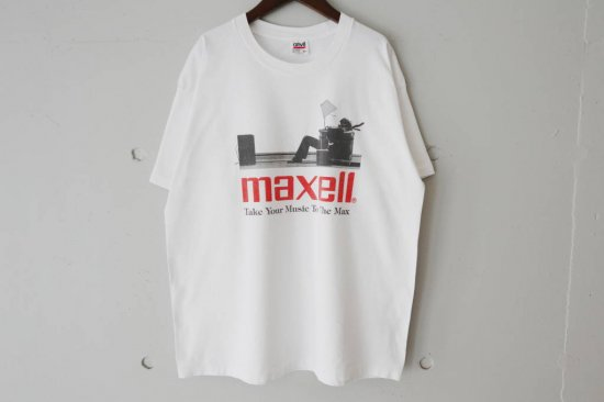 90's Maxell T-Shirts Size:XL
