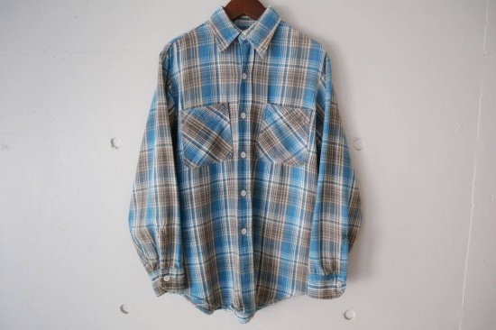 70s BIGMAC Heavy Flannel Check Shirts Size:S