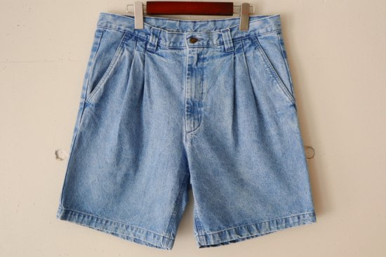 90's ST JOHN'S BAY Denim Shorts Size:34