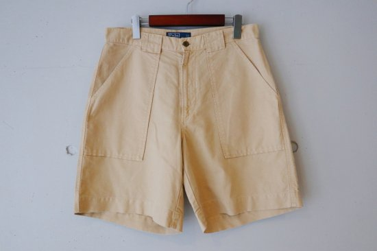 90's Polo by Ralph Lauren Cotton Linen Baker Short Pants Size:32