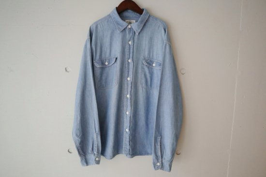 RRL chambray Work Shirts Size:XL