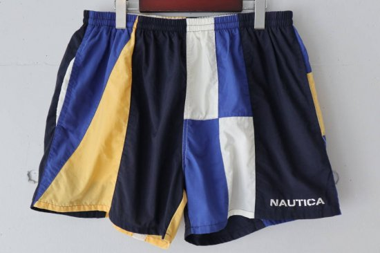 90's Nautica Nylon Short Pants Size:XL