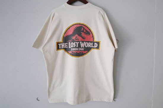 90's THE LOST WORLD:JURASSIC PARK T-shirts Size:XL