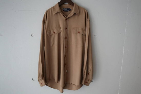 90's Polo by Ralph Lauren Rayon Safari Shirts Size:L