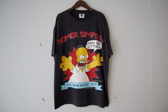 "90's The Simpsons ""Homer Simpson""T-Shirts Size:XL"