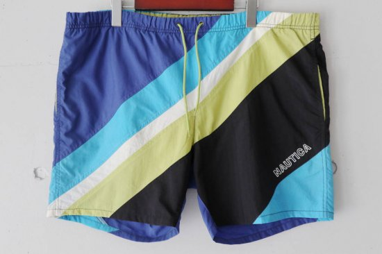 90's Nautica Nylon Short Pants Size:M