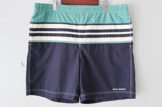 90s Polo Sport Nylon Short Pants Size:L