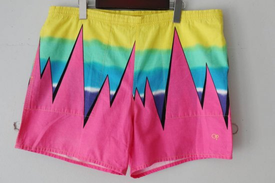 80's Ocean Pacific Short Pants Size:XL