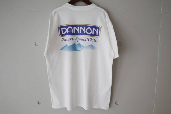 90's Dannon Spring Water T-shirts Size:L
