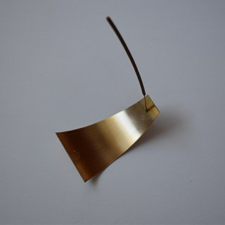 BRASS INCENSE STAND     -APOTHEKE FRAGRANCE-