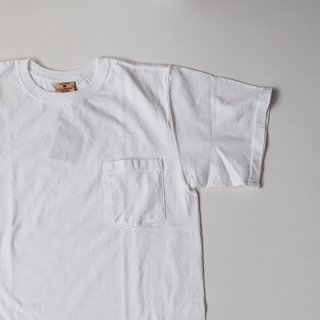 <img class='new_mark_img1' src='https://img.shop-pro.jp/img/new/icons14.gif' style='border:none;display:inline;margin:0px;padding:0px;width:auto;' />【GOODWEAR】 Short Sleeve Pocket TEE -WHITE-
