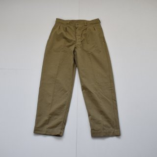【DEAD STOCK】50's-1960's FRENCH ARMY M52 CHINO TROUSERS フランス軍 チノ