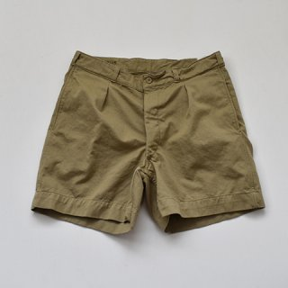 【DEAD STOCK】 50's FRENCH ARMY M52 CHINO SHORTS