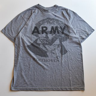 【USED】US ARMY BEETHOVEN ベートーベン プリント TEE (B)